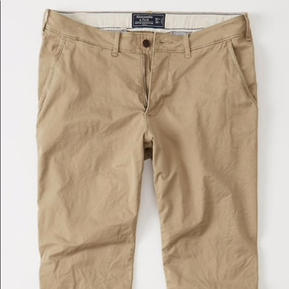Abercrombie & Fitch Other - ATHLETIC SKINNY CHINO PANTS